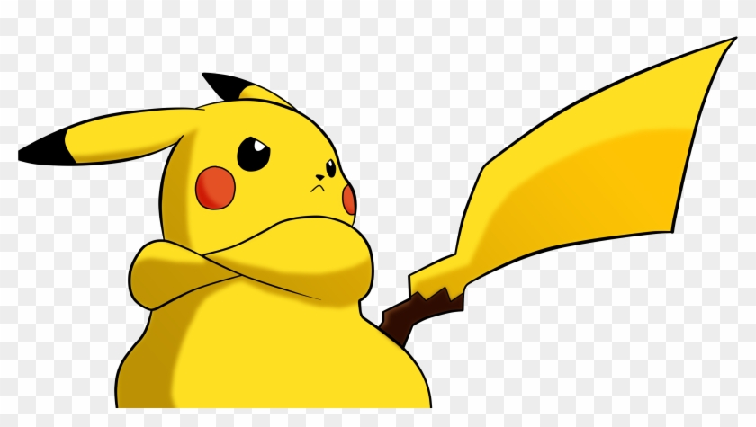 Pikachu Clipart Lightning Pokemon Meme Png Free Transparent