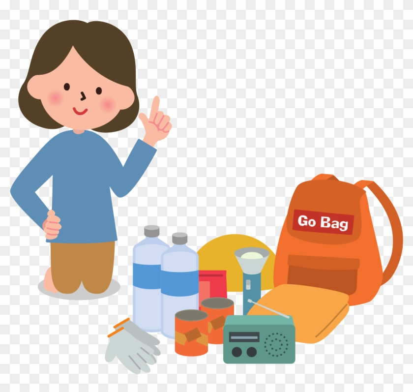 Management Woman - Go Bag Clip Art #105556