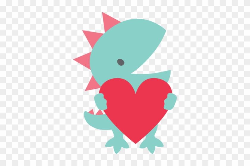 Love Dino Cookie Cutter - Cookie Cutter #105587
