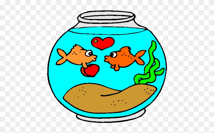 Tags - - Valentines Fish Clipart #105604