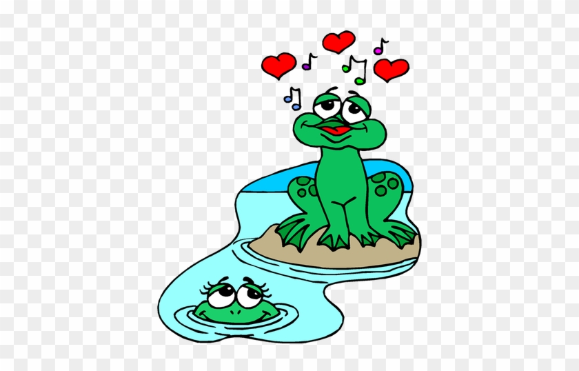 Tags - - Cartoon Frogs In Love #105613