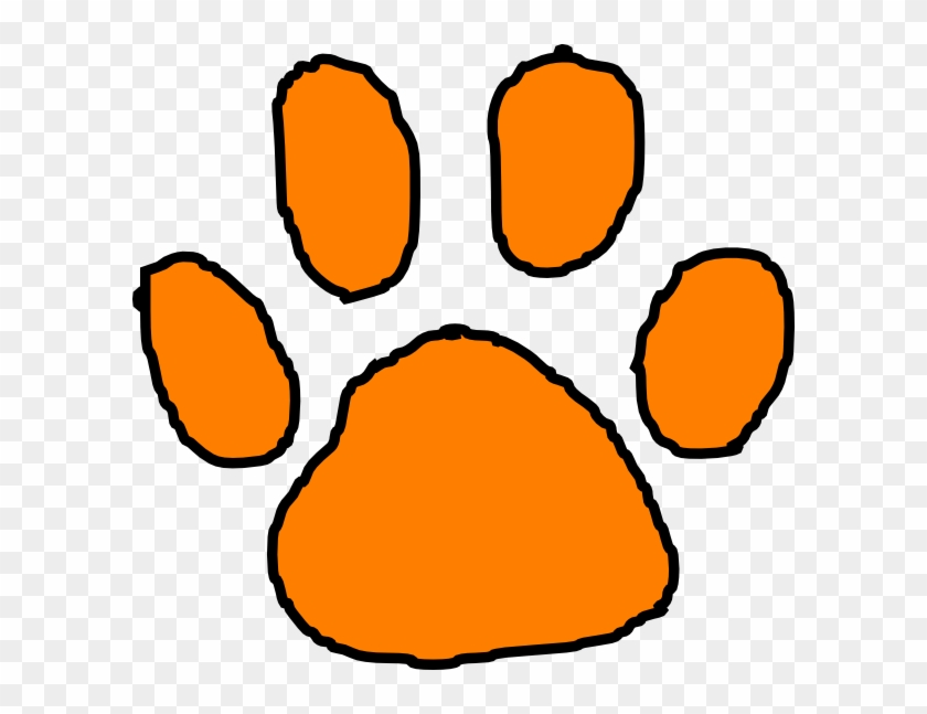 Tiger Paw Clipart #105667