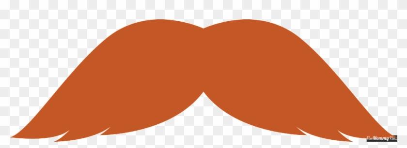 Movember Moustache Blond Clip Art - Movember Moustache Blond Clip Art #105691