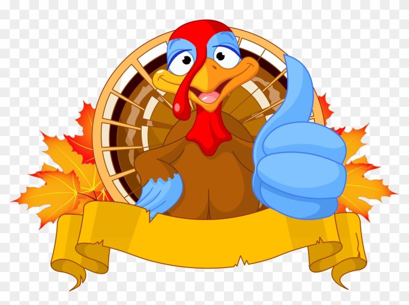 Transparent Thanksgiving Turkey Clipart Picture - Thanksgiving Turkey Clipart Png #105696
