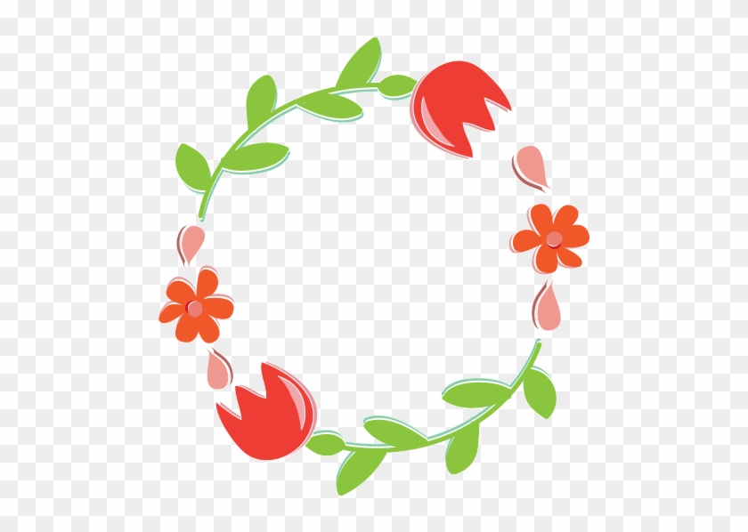 Wreath Clipart Light Png - Transparent Background Flower Clip Art #105814