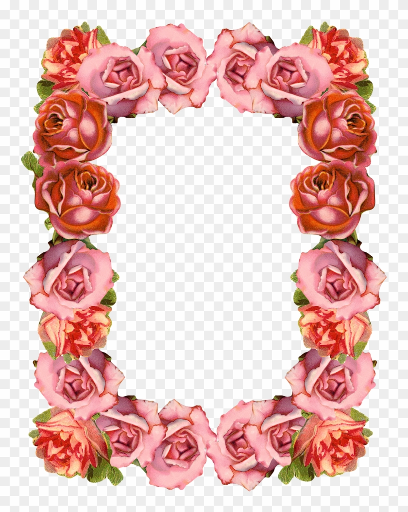 Clip Art Free Roses Border Transparent Background Free