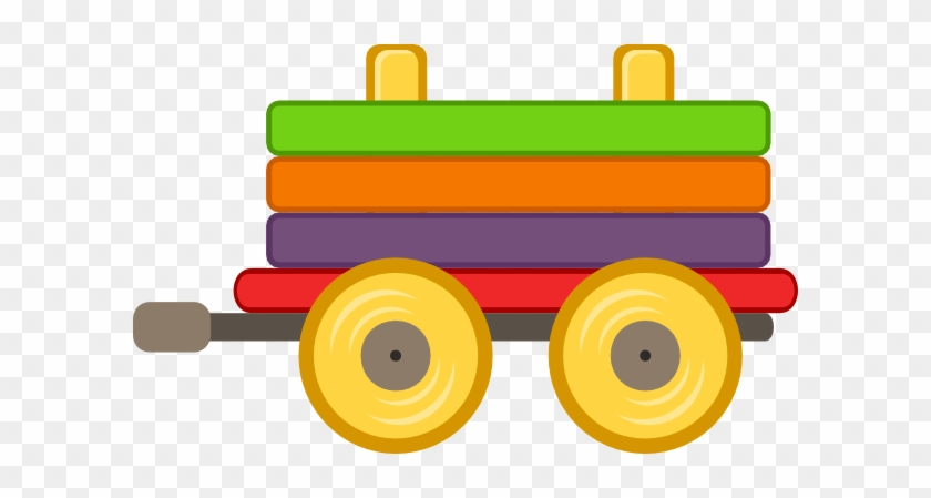 Loco Train Carriage Clip Art - Cartoon Train With Carriages #105996