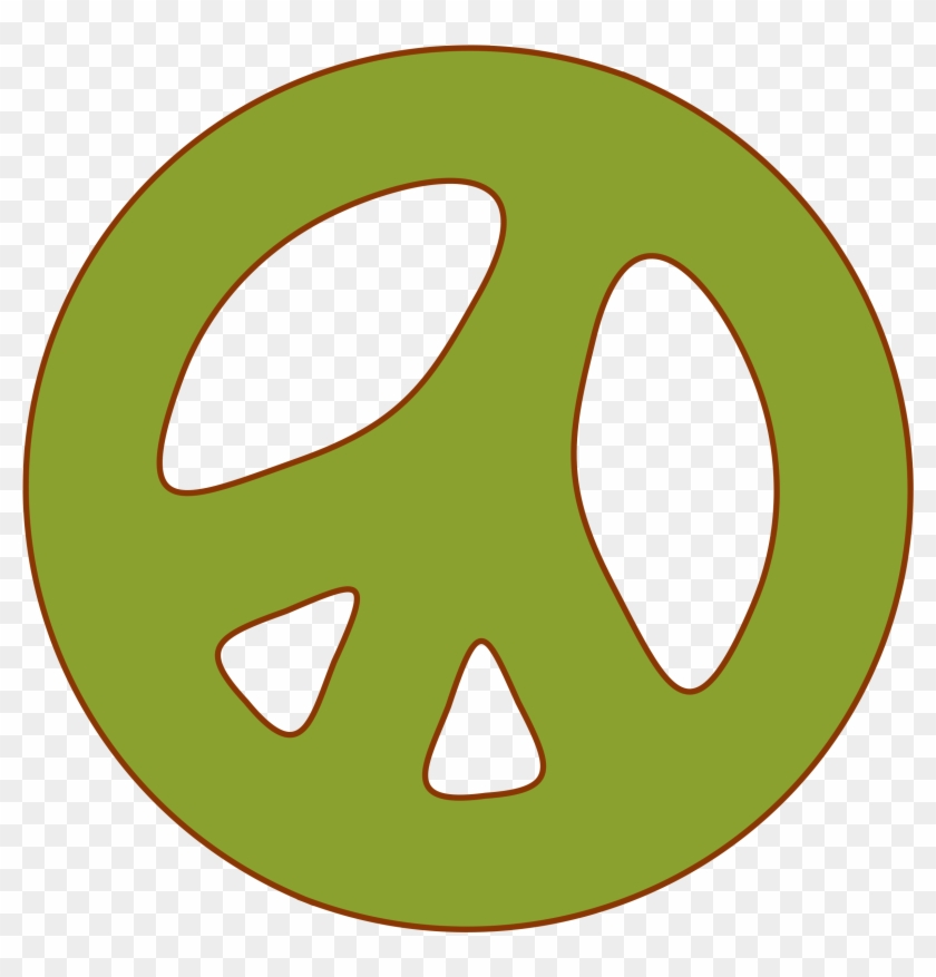 Clipart Peace Sign Clipartmonk Free Clip Art Images - Circle #106000