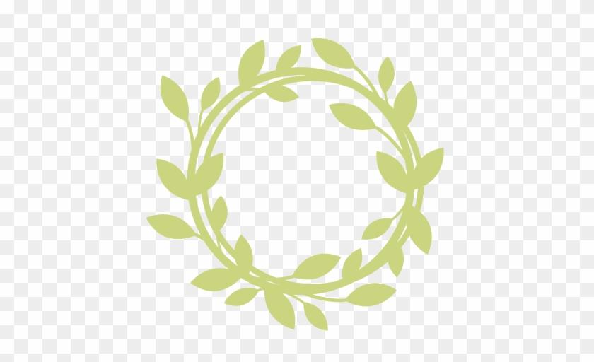 Wreath Svg Scrapbook Cut File Cute Clipart Files For - Free Wreath Svg #106004