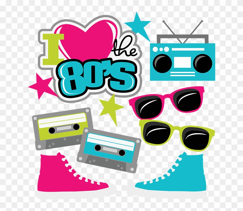 I Love The 80s Clipart - Love The 80s Svg #106038