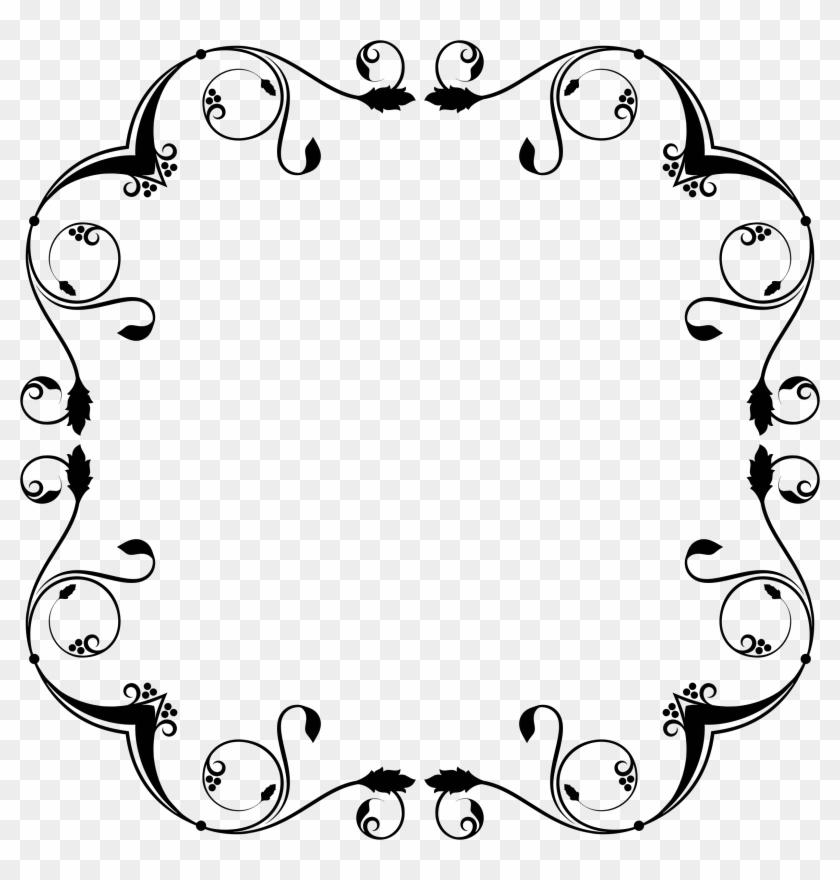 Flourish Frame Design - Portable Network Graphics #106061