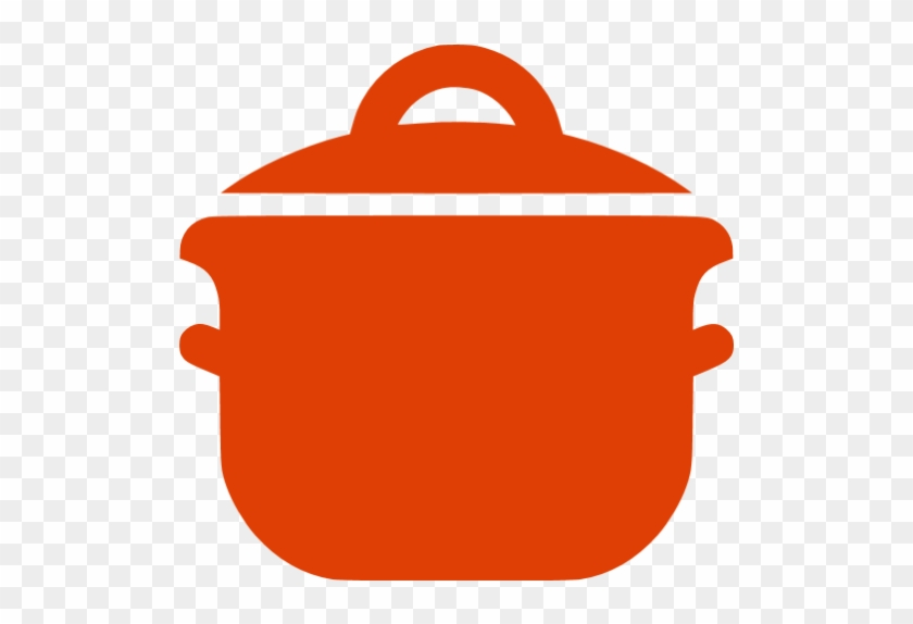 Cooking Pot Icon Clipart - Black And White Cooking Icon #106129
