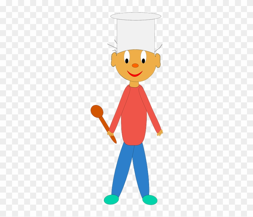 Kids Cook Summer Camps - Chef Cartoon #106161