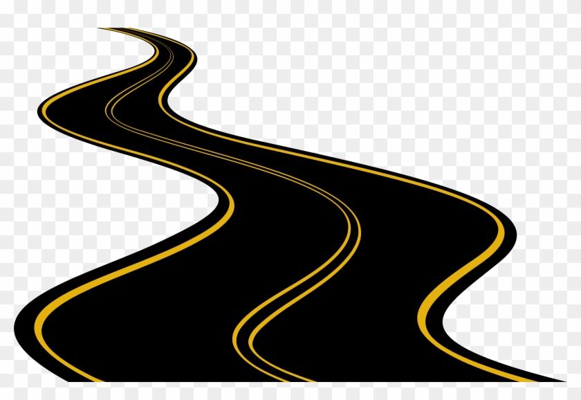 Road Png Clip Art - Road Clipart Png #106199