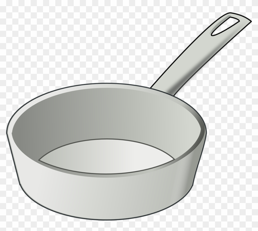 Frying Pan Skillet Cooking Kitchen - Skillet Clipart #106213