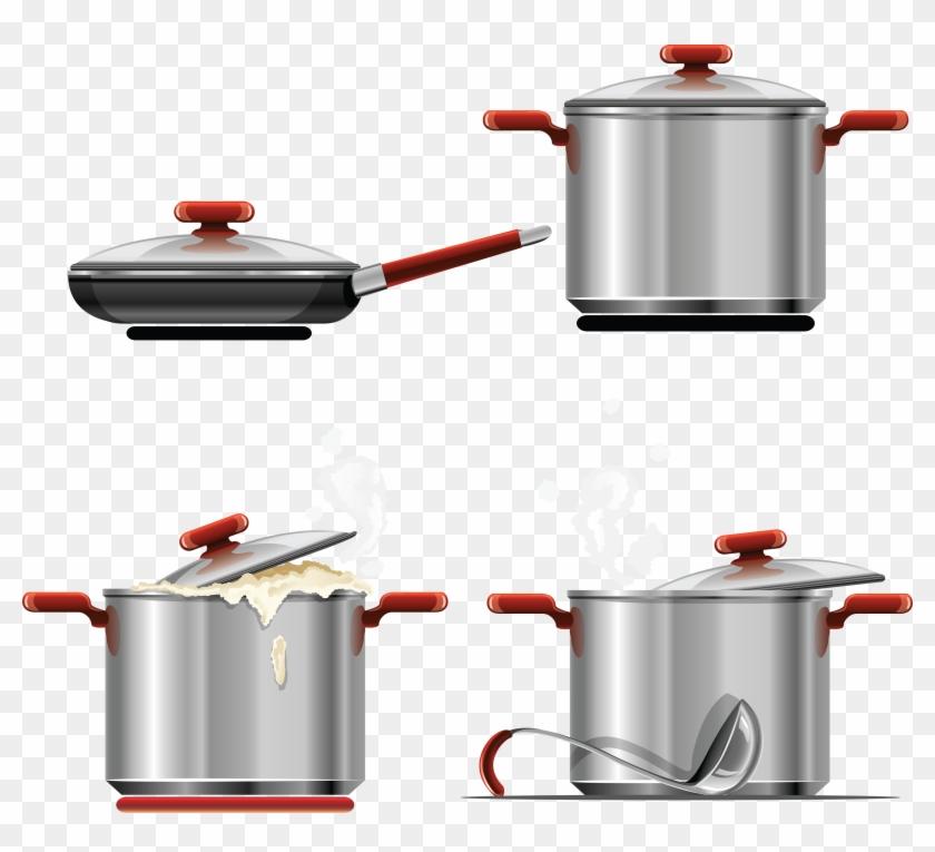 Cooking Pan Png Image - Pan Vector #106230