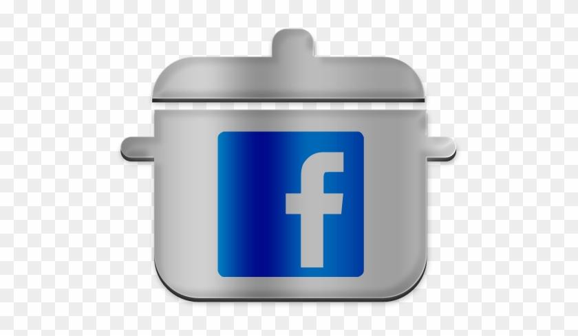 Facebook Cooking Pot Icon - Clip Art #106249