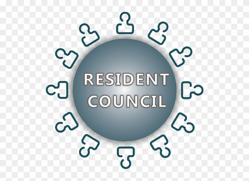 Meeting Clipart Resident - Family Council Clipart #106284