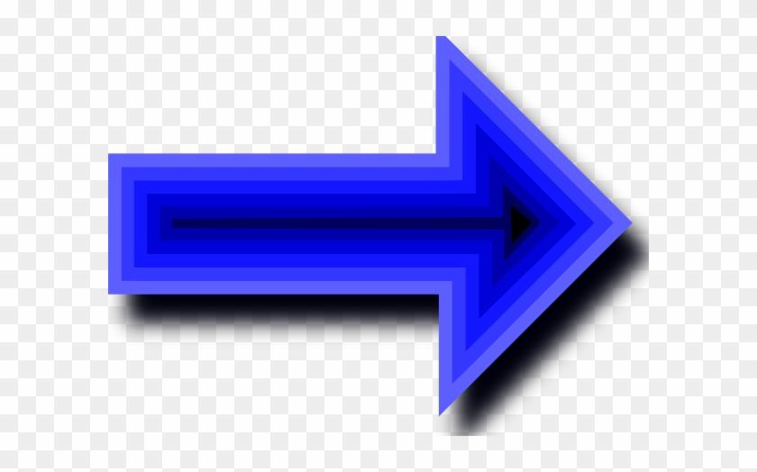 Free Vector Arrow Set With Depth Clip Art - Arrow Right No Background #106357