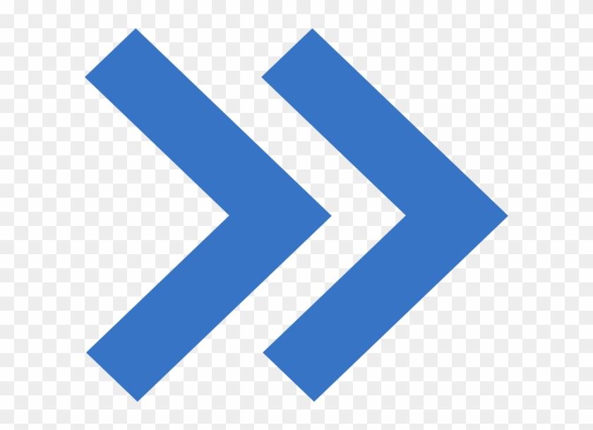 Prewiev Arrow Clip Art At Clker Blue Double Arrow Icon Free Transparent Png Clipart Images Download