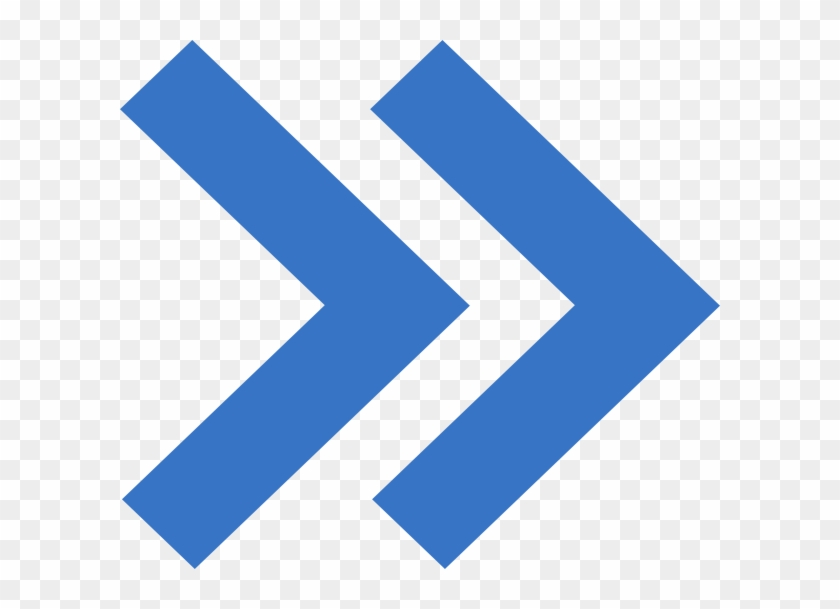 Prewiev Arrow Clip Art At Clker - Blue Double Arrow Icon #106366