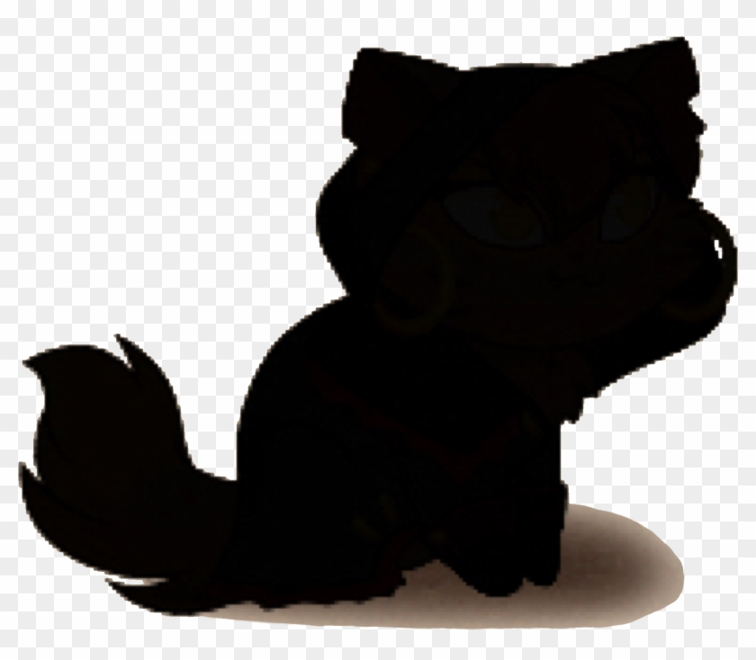 Silhouette When Locked - Black Cat #106393