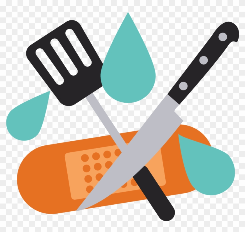 Health & Safety - Kitchen And Food Safety Clipart #106407