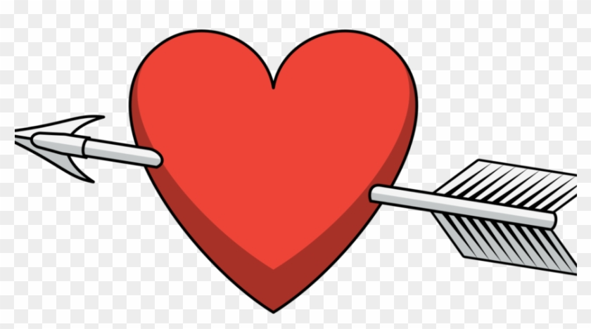 How To Move On From The Valentine's Day Break-up - Heart Arrow Png #106409