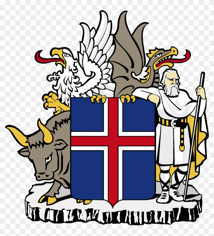 Iceland Coat Of Arms #106415