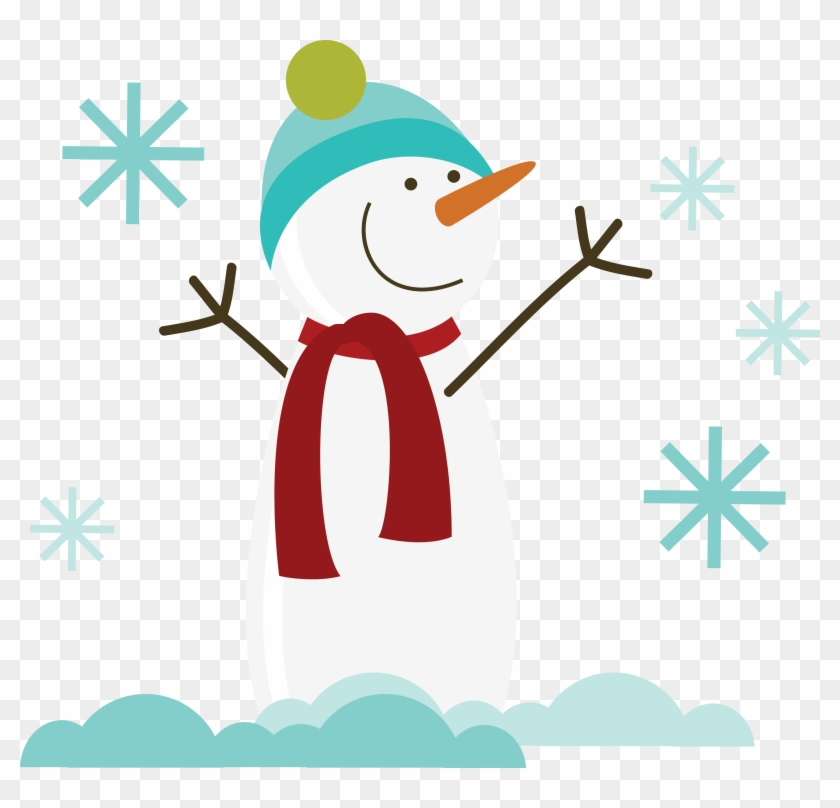 Free Svg Of The Day Snowman Free Snowman Svg File For - Snowman Svg Free #106455