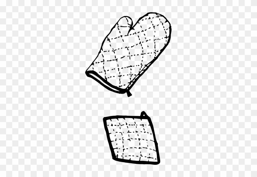 Cooking - Cooking Gloves Vector #106489