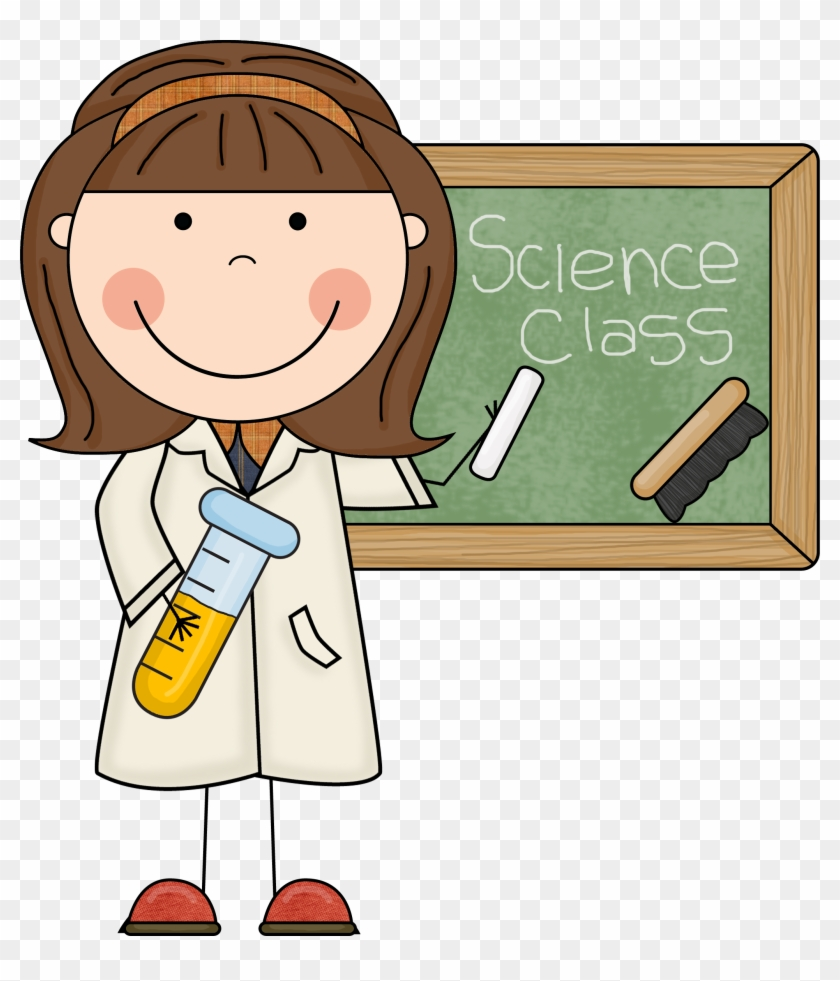 Weird Clipart Student - Science Teacher #106513