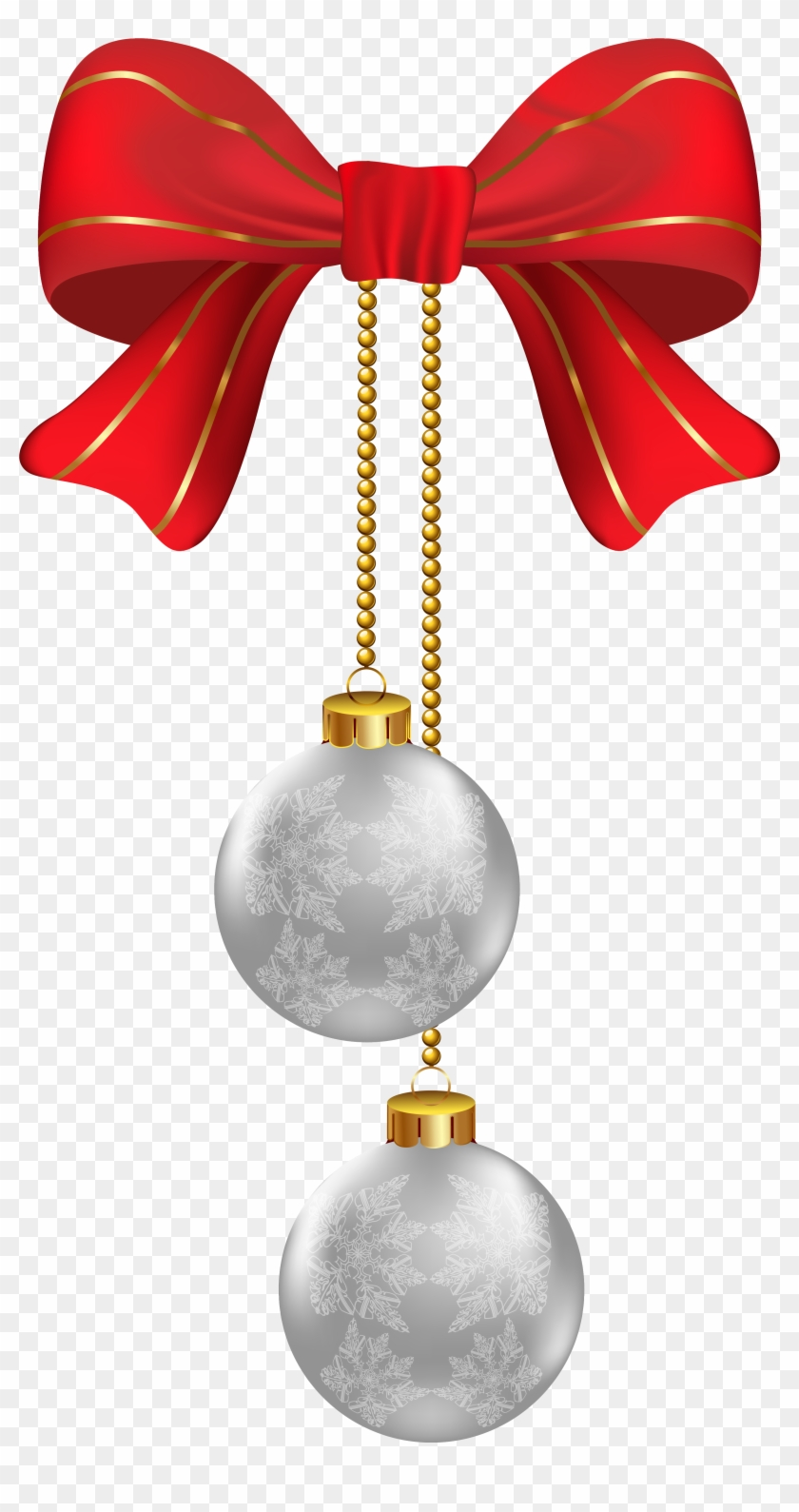 Hanging Christmas Ornament Png - Free Transparent PNG Clipart Images ...