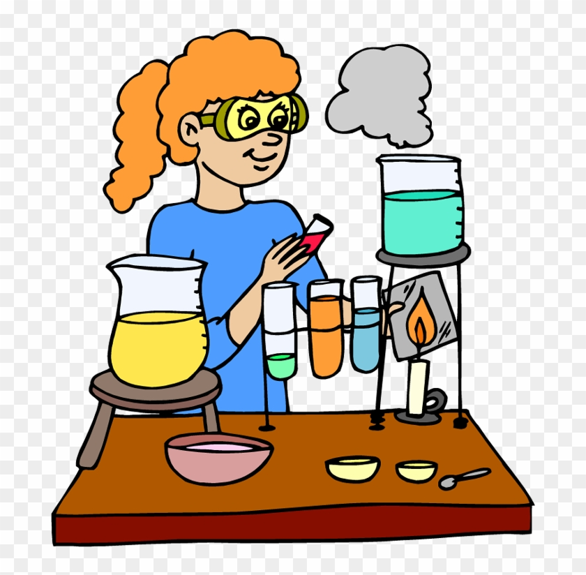 July - Experiment Clipart #106556