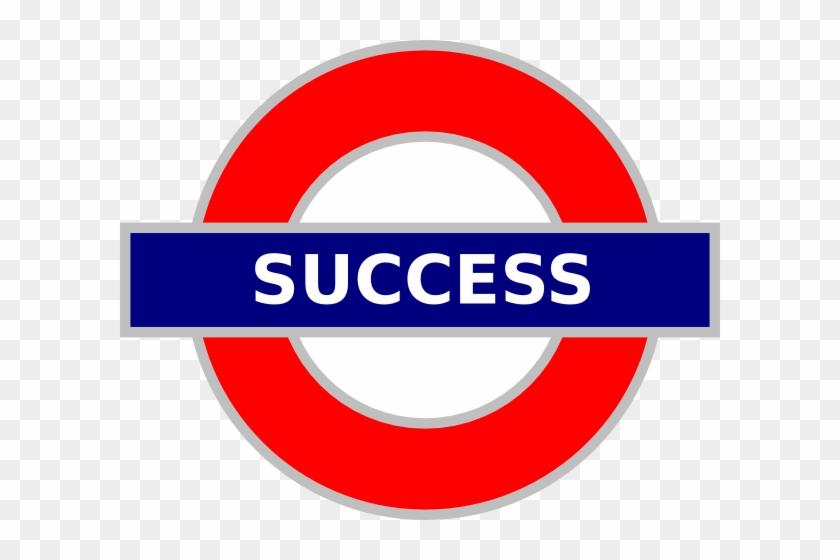 Success Clipart London Tube Sign Success Hi - Green Park #106638
