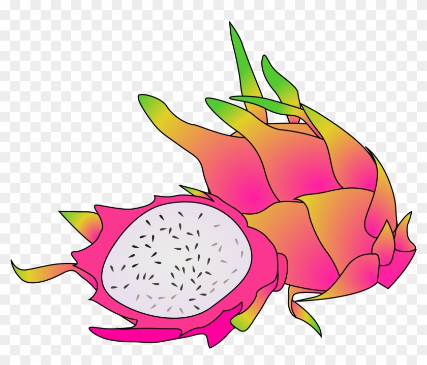 This Free Icons Png Design Of Dragon Fruit - Clip Art Dragon Fruit #106691