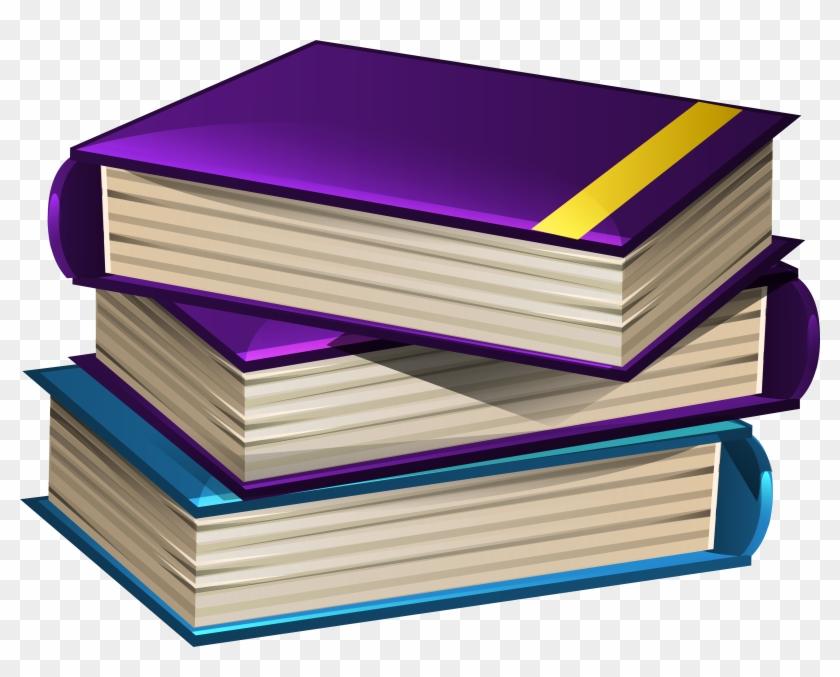 Book School Cliparts - Books Clipart Png #106710