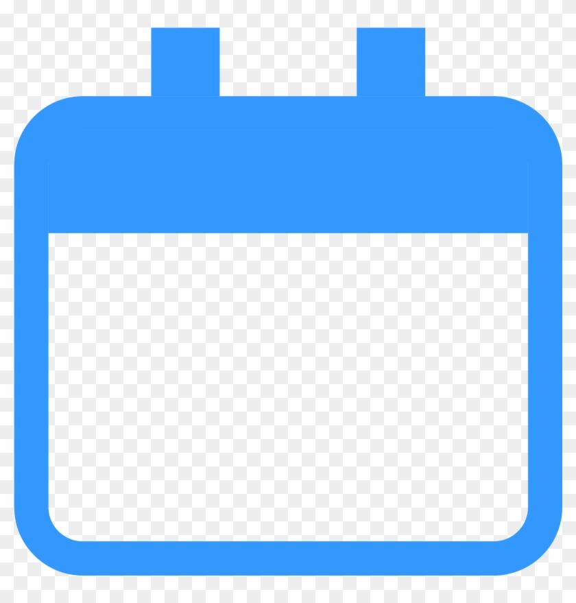Open - Blue Calendar Icon Png #106722