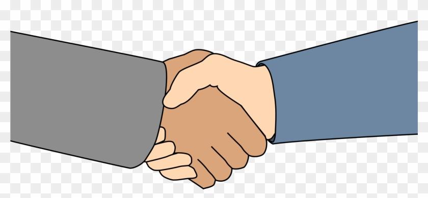 Tags For Help - People Shaking Hands Clip Art #106793