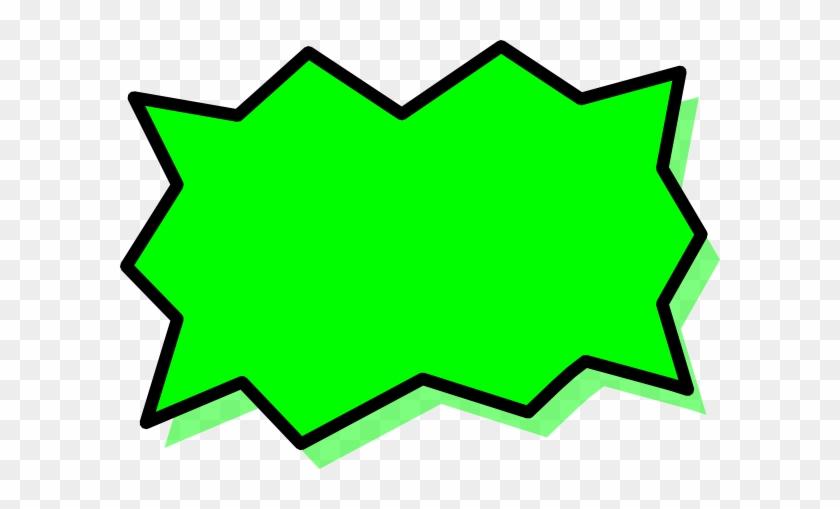 This Free Clip Arts Design Of Speech Bubble Superhero - Comics #106809
