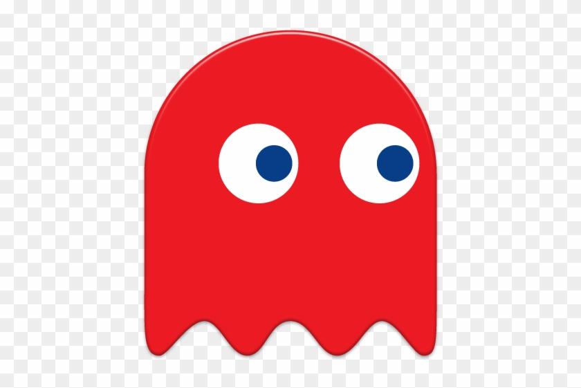 Pixel Clipart Pacman Ghost - Fantasmas De Pacman Rojo #106840