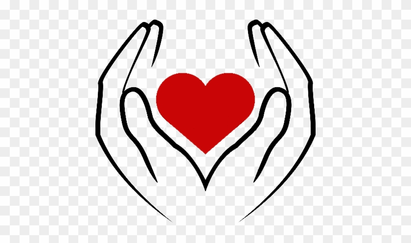 Opportunities To Give - Hands Holding A Heart #106847