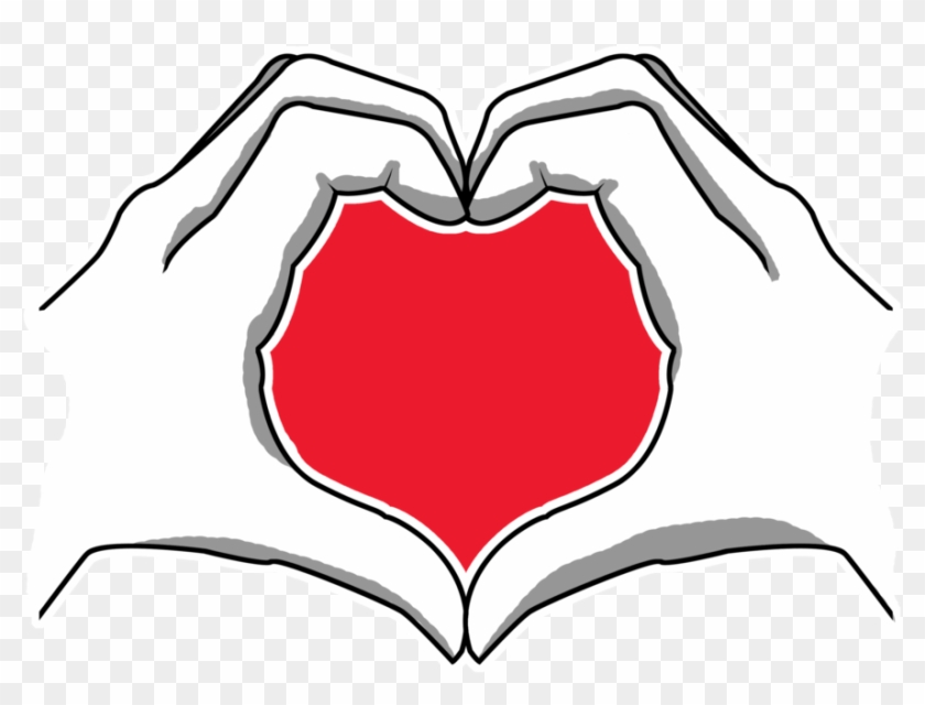 Hand Heart Png #107076