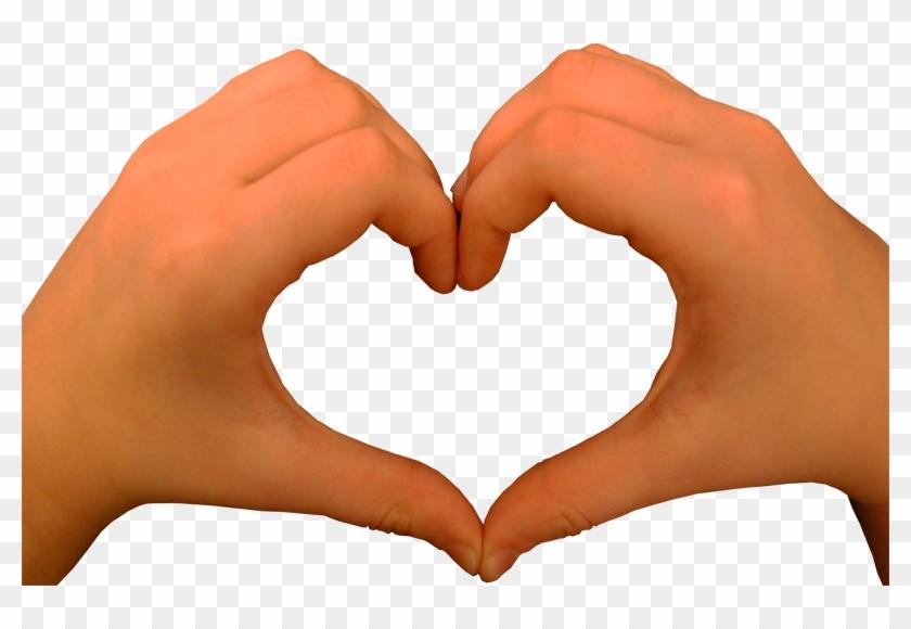 Heart Shape Hands Transparent Image - Heart Hands Transparent Background #107098