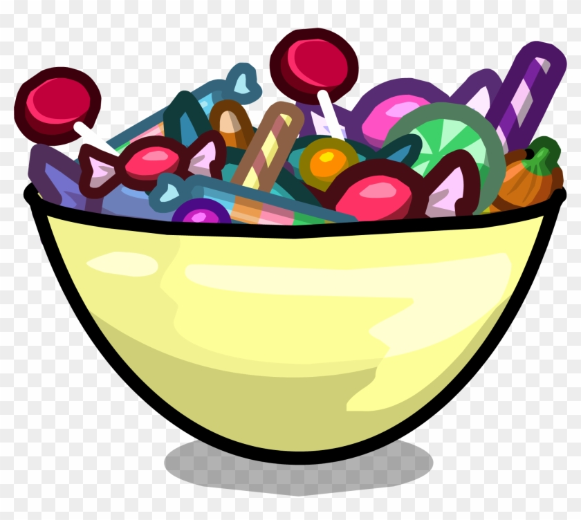 Candy Clipart Bowl Candy - Transparent Candy Bowl Clipart #107200