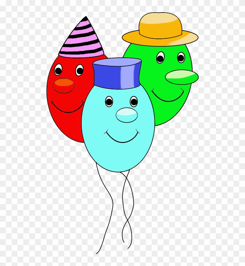 Funny Balloons With Faces For Birthday - Birthday #107239
