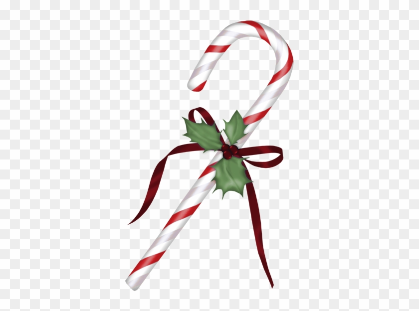 Christmas Candy Cane Png Clipart - Christmas Candy Cane Png Clipart #107309