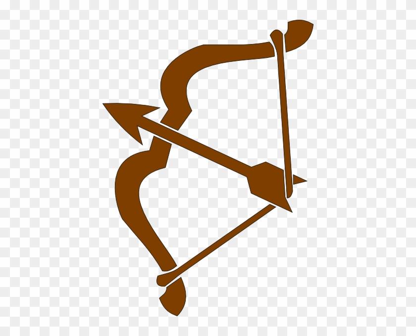 Archer 3 Clip Art - Bow And Arrow Clip Art #107373