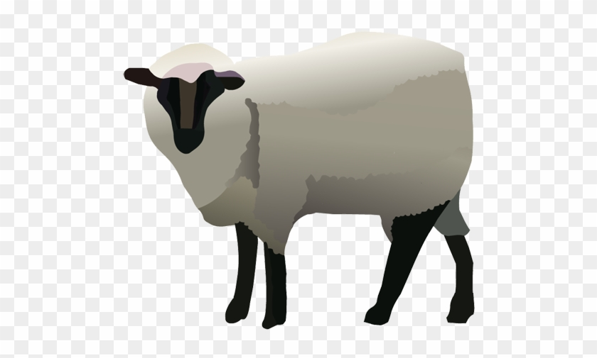 Sheep Clipart Nativity Animal - Bighorn #107435