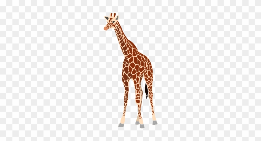 Free Vector Giraffe Clip Art - Giraffe Clip Art #107464